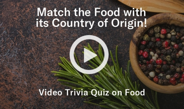Video - Match the food to the country