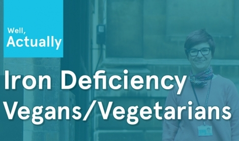 Iron Deficiency In Vegans & Vegetarians
