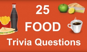 Video - 25 Food Trivia Questions