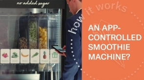 Customizable Smoothies On-Demand | Futuristic Vending Machines