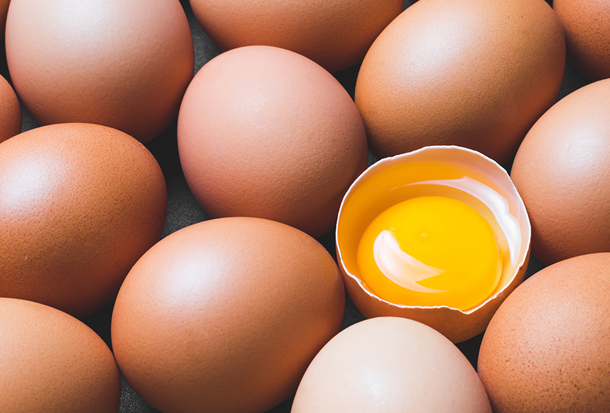 Why are some egg yolks so orange?