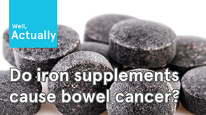 Do Iron Supplements Cause Bowel Cancer