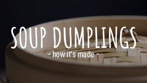How to make soup dumplings (xiao long bao)